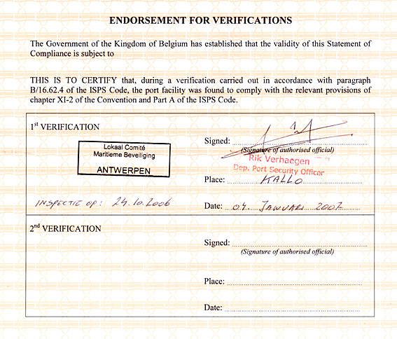 define endorsement and what are the requirements of valid