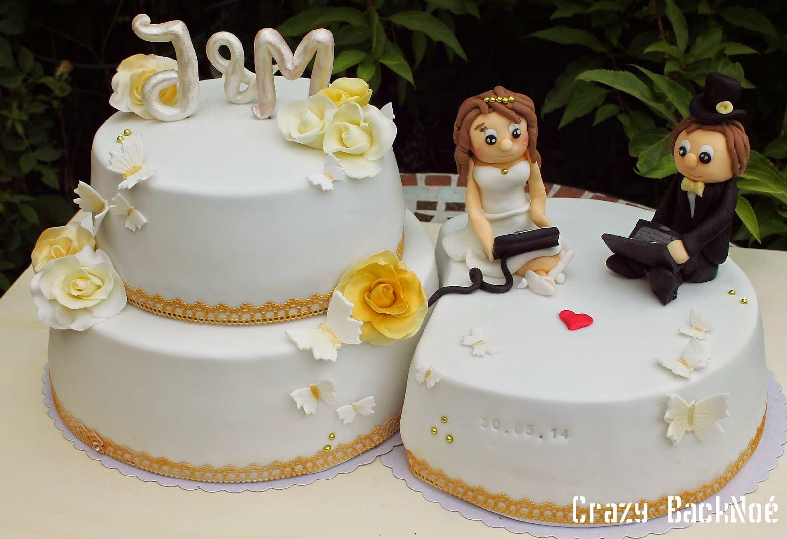 ... sollte auch als Überraschung auf ihrer Hochzeitstorte zu sehen sein