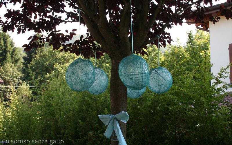 Un sorriso senza gatto compleanno ribelle for Decorazioni in ferro per giardino