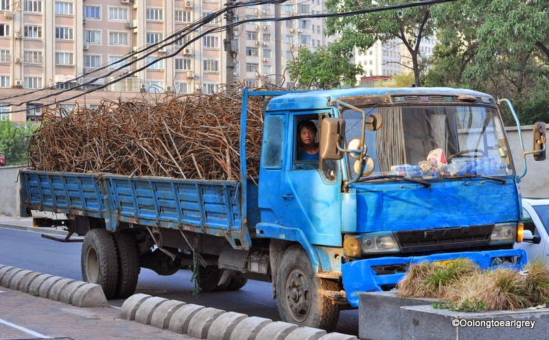 Big Blue truck, Shanghai
