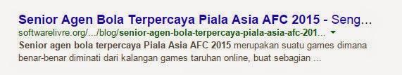 senior agen bola terpercaya piala asia afc 2015