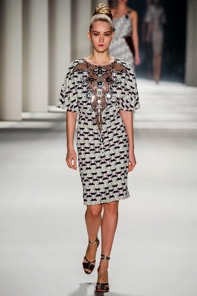 New York Fashion Week Fall'14: Катя Рябинкина  в шоу Сarolina Herrera, Rodarte, Michael Kors и Pillip Lim.