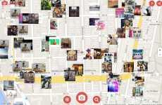 InstMap: permite ver imágenes de Instagram de cualuqier lugar del mundo en un mapa de Google Maps