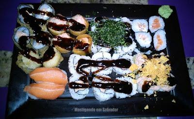 Sushi Deli: O Combinado de sushis à moda do chefe
