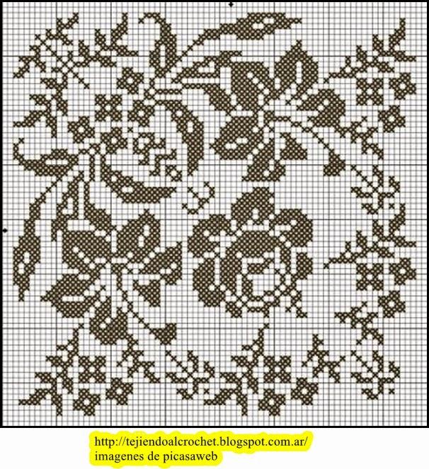 Fotos De Flores Tejidas Al Crochet - Flores Tejidas Al Crochet Moda, Belleza Y Accesorios