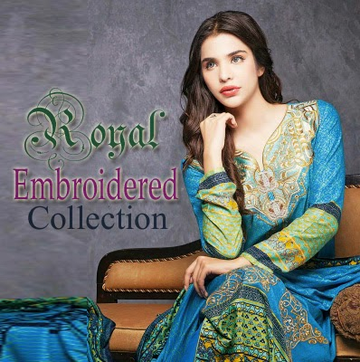 Royal Embroidered Collection By Ittehad