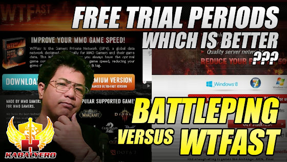Battleping VS WTFast, Better Free Trial Periods?