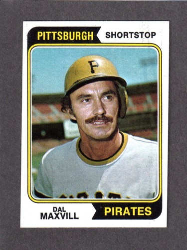 Dal Maxvill 1973-1974 (1974 baseball card)
