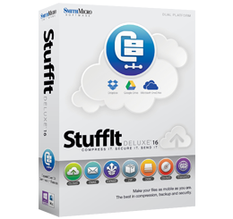 Disponibili StuffIt Deluxe 16 e StuffIt Expander 16 per Mac OS X