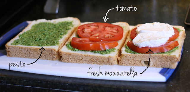 "Grilled Caprese Sandwiches | more than 9 to 5: my life as ""Mom"""