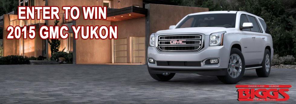 win a 2015 GMC Yukon