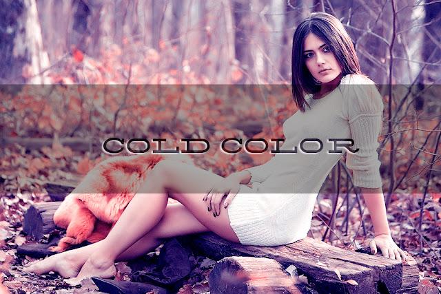 Холодные осенние оттенки в Фотошопе