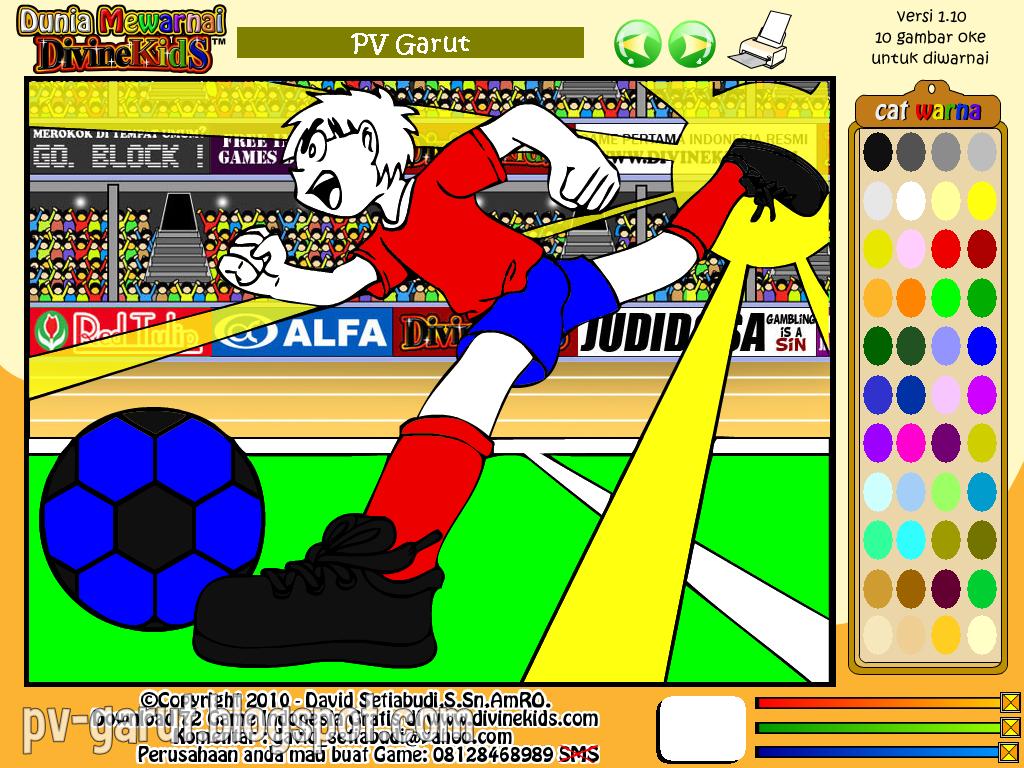 Game Dunia Mewarnai Untuk Anak-anak