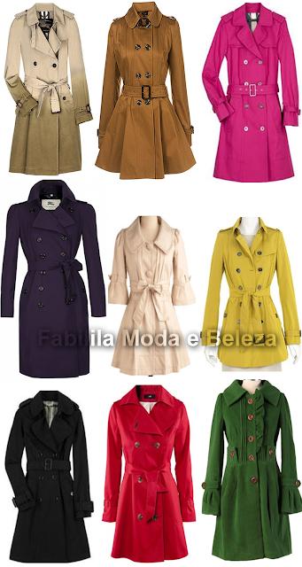 casacos trench coat