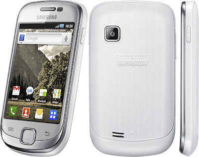 new New Samsung Galaxy Fit S5670  Smartphone Review 2011