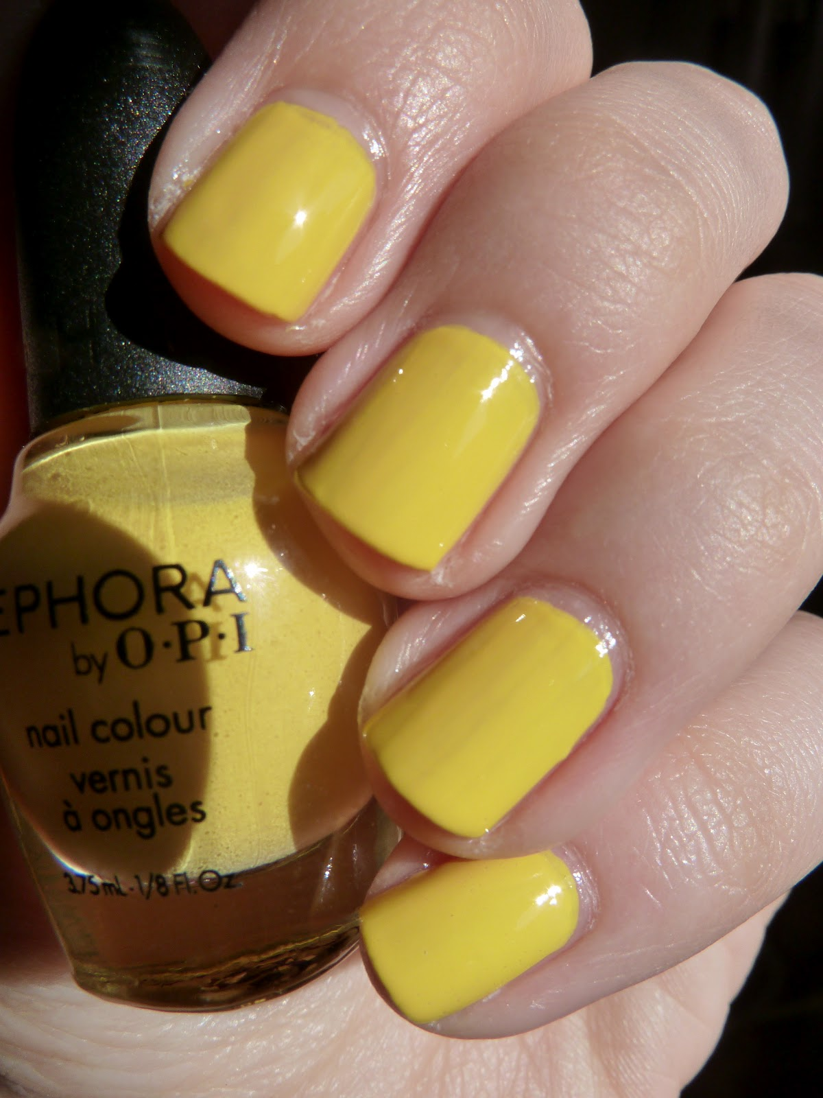 Short \'n Chic: Sephora by OPI Yellow My Name Is Betsey