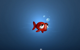 Sad Fish HD Wallpaper