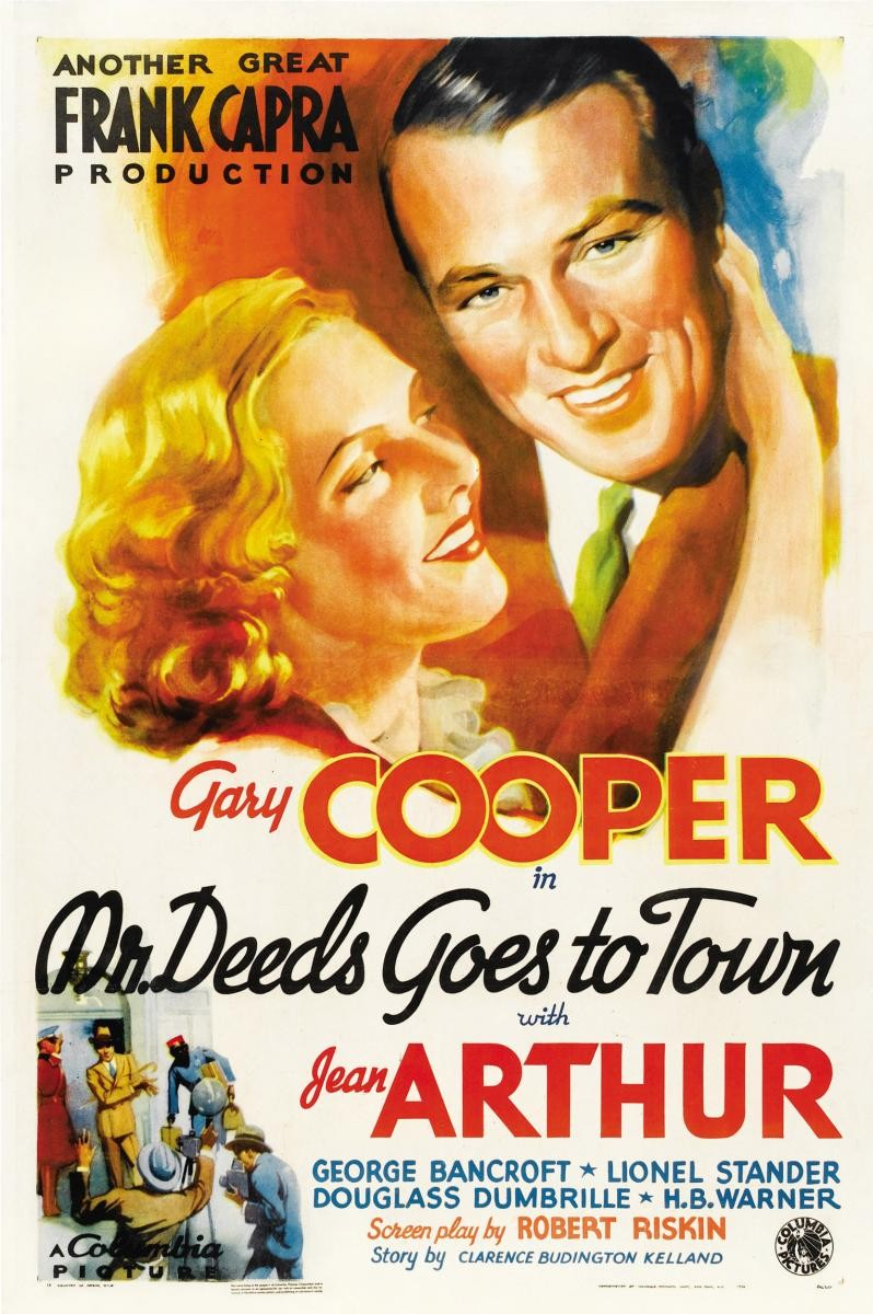 A March Through Film History Mr Deeds Goes To Town 1936