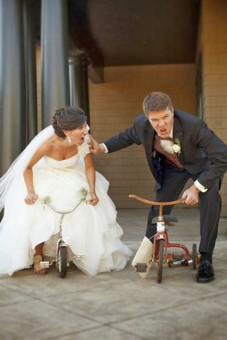 Key joke wedding