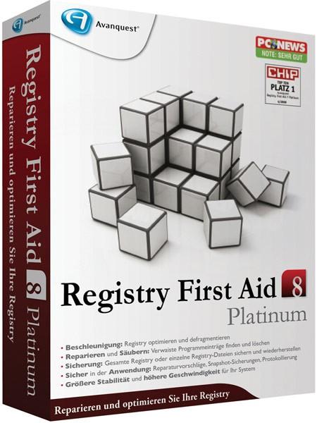 Registry First Aid 9.1.0 2157 (PL) - Zarejestrowany