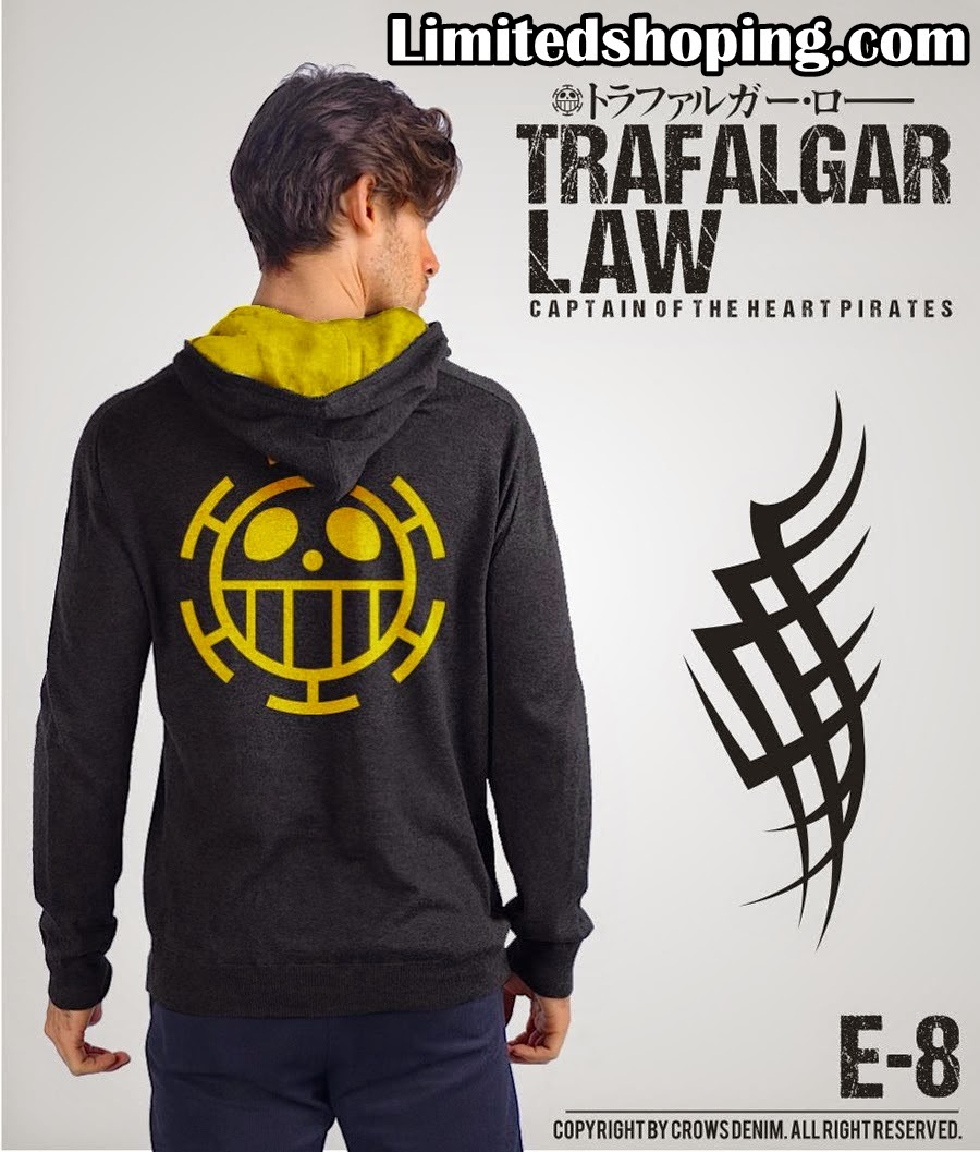 Limited Shop Mei 2015 Jaket Kulit Sintetis Sk 24 Trafalgar Law One Piece Yang Stylish