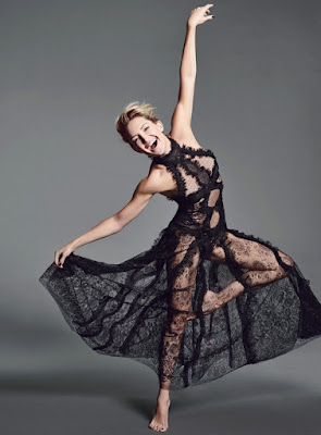 Kate Hudson wears sheer designs for Allure November 2015