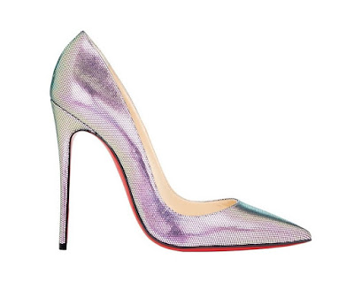 Christian Louboutin So Kate Pumps in iridescent color