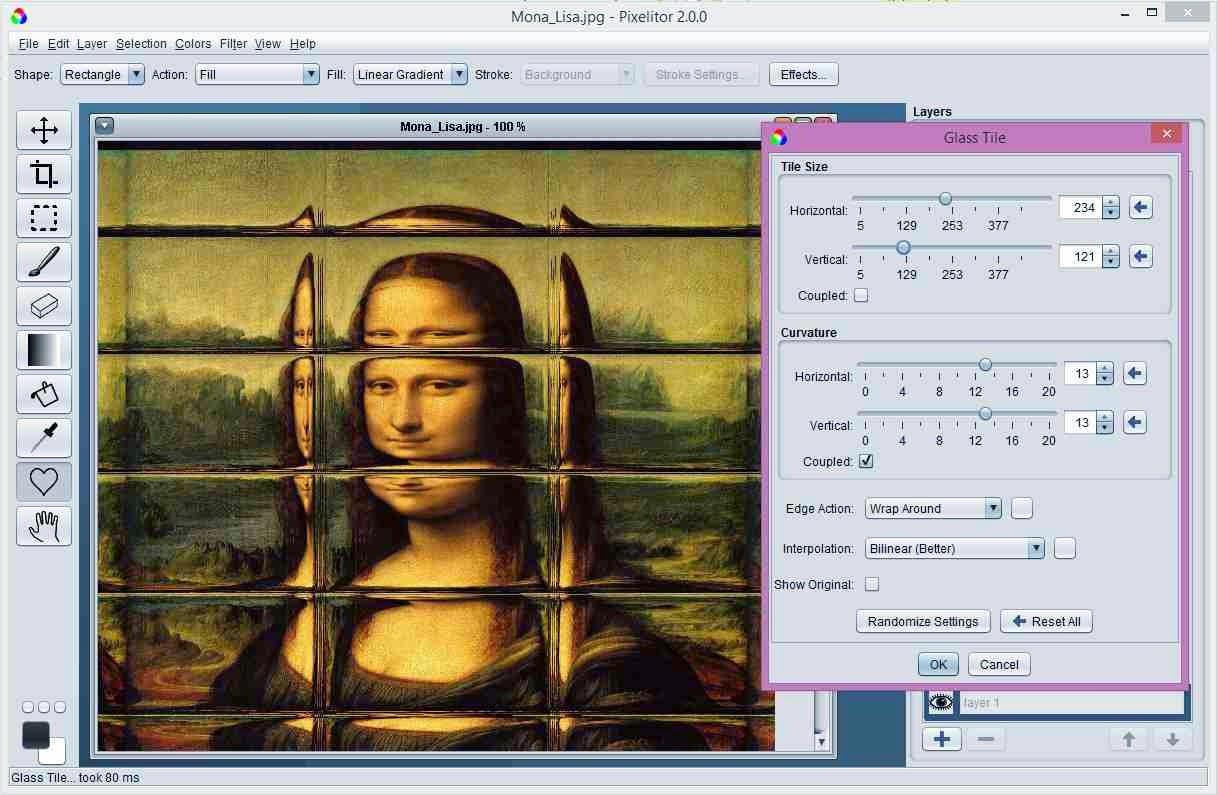 برنامج مجاني قوي لتحرير وتحسين وإنشاء الصور لويندوز ولينكس وماك Pixelitor 2.2.0