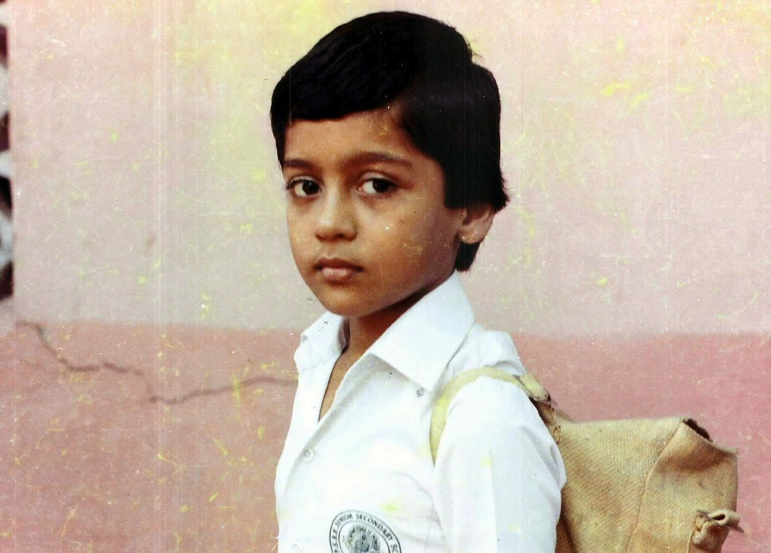 Surya Childhood Photos Actor Surya Masss Movie First