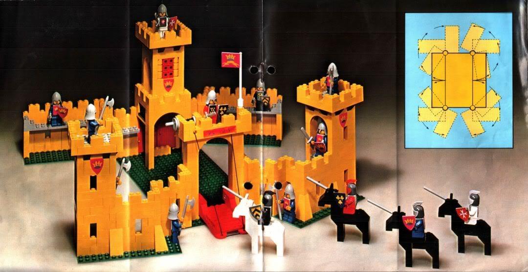 steve 39 s lego blog the classic lego castle sets 1978 1983. Black Bedroom Furniture Sets. Home Design Ideas