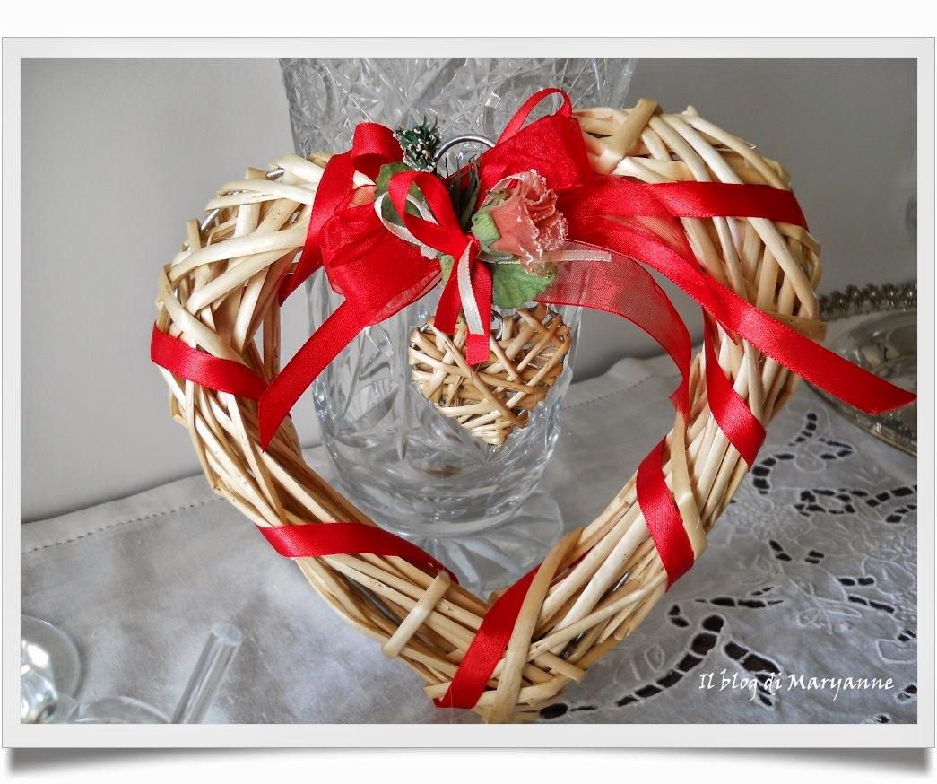 fuori porta a forma di cuore,   regalino, regalo handmade