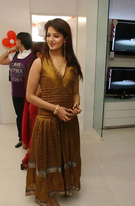 saloni in golden dress hot photoshoot