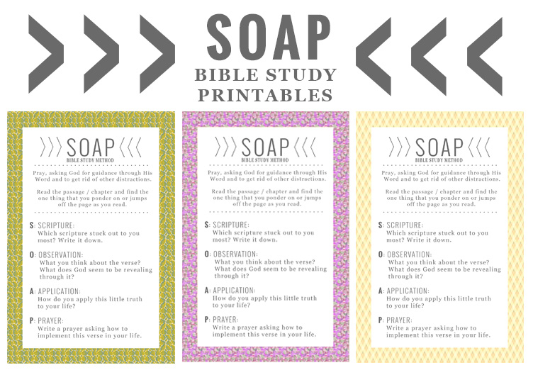 Personal Bible Study How To With SOAP In Grace Always