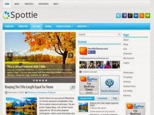 Spottie - Free Wordpress Theme