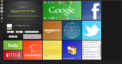 Google Chrome Windows 8 Metro look