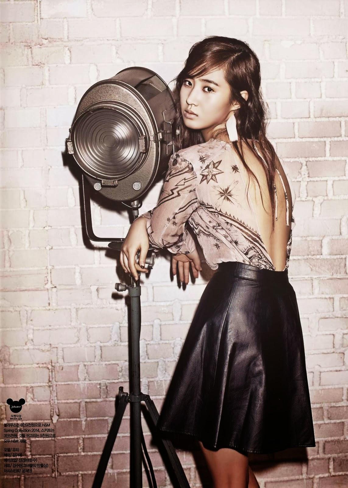 girls u0026 39  generation u0026 39 s yuri poses professionally for harper u0026 39 s bazaar