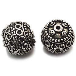 Fashion 925 Sterling Silver Big Beads