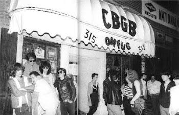 CBGB - O berço do Punk e Pós-punk