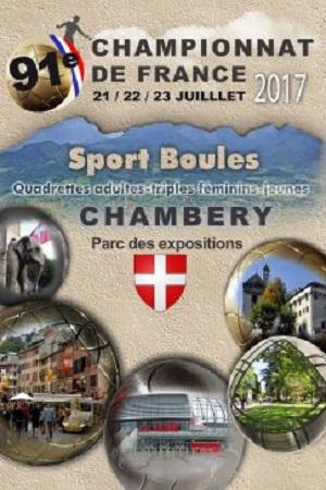 Préparez le France Quadrettes et Triples à Chambéry