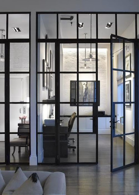 modern steel doors