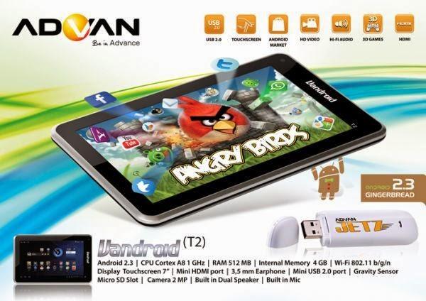 Harga Terbaru HP Advan Vandroid Bulan Juni 2014