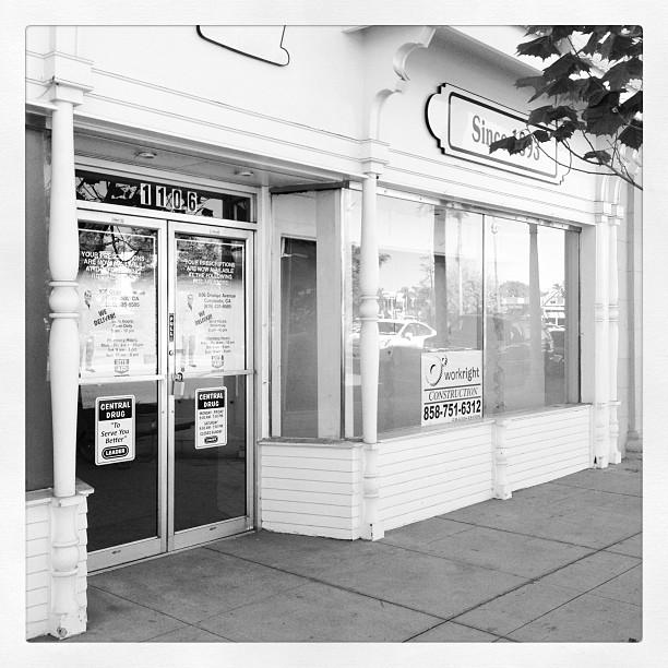 Central Drug Store, Former Home, Coronado Island, CA