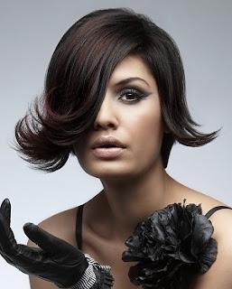 Black Flip Hairstyles