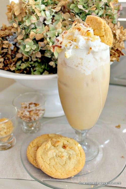 Macadamia Nut Ice Coffee at One More Time Events.com