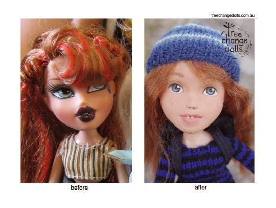 This Mom Removes Make Up From Dolls… I Cheered When I Found Out Why.