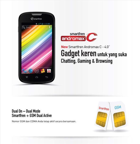 smartfren andromax C Smartfren Andromax C, Android Harga Murah 600