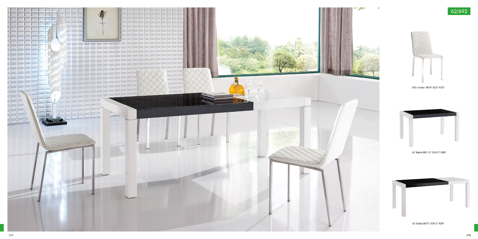 Unique dining room sets long island new york dining room for Modern dining table and chairs
