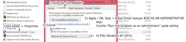Cara Instal Intel USB Driver For Zenfone in Windows xp/7/8/8.1