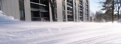 Couverture facebook Neige à Montréal