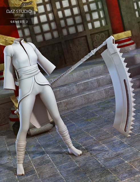 Ninja Chan for Genesis 2 Female